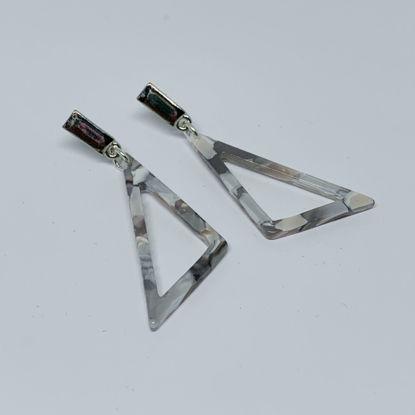 Afbeeldingen van Hars driehoek grijs