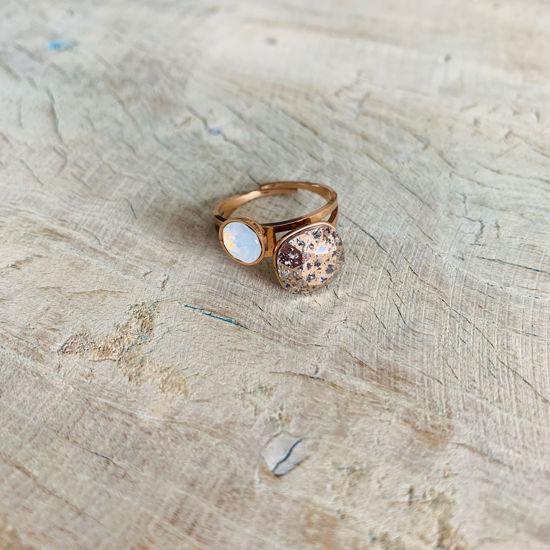 Afbeeldingen van Rosegold ring