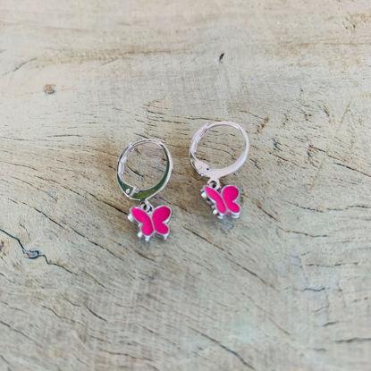 Afbeeldingen van Vlinder - roze