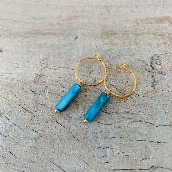 Afbeeldingen van Cascara - azuur blauw