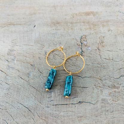 Afbeeldingen van Aleza - Turquoise rond