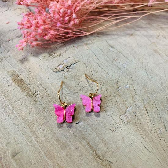 Afbeeldingen van Butterfly pink