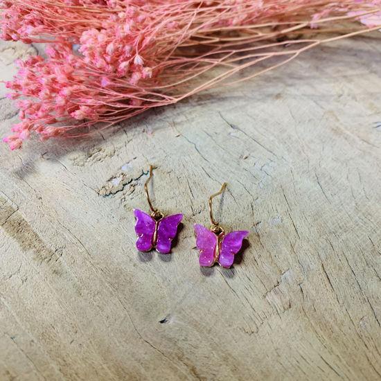 Afbeeldingen van Butterfly purple