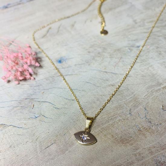 Afbeeldingen van Pretty eye necklace